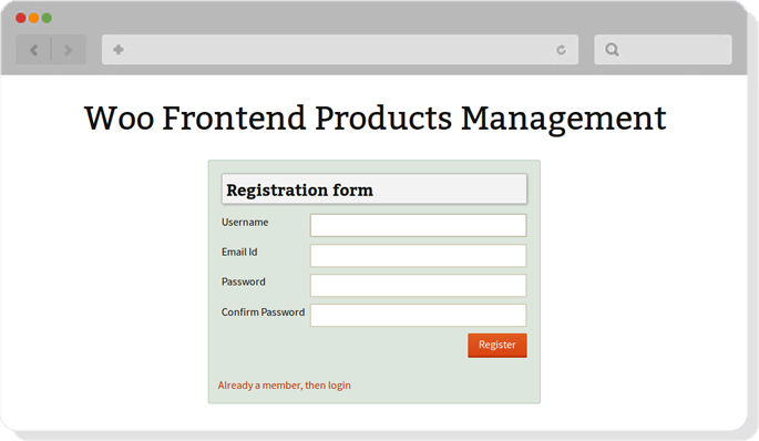 wordpress plugin for product management in frontend
